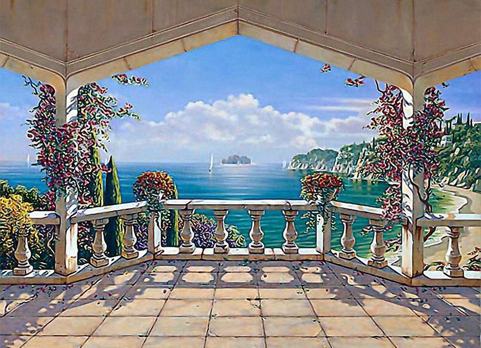 средиземноморские пейзажи обои на рабочий стол № 648670 бесплатно